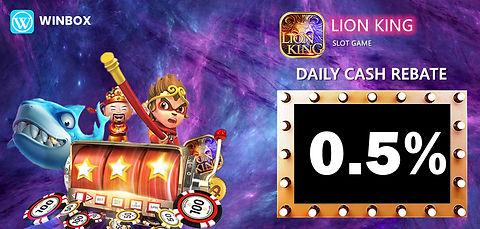 WINBOX Casino Malaysia | Slots Game | Lion King