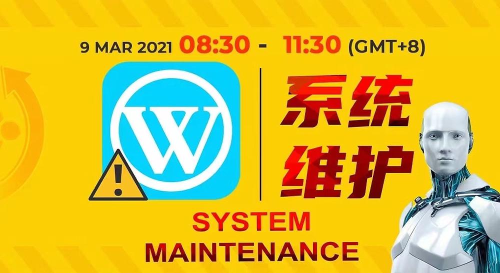 WINBOX Maintenance Notice