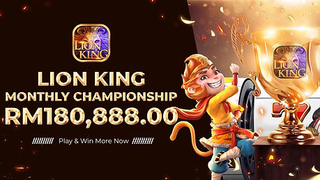 Lion King Slots Games Monthly Championship