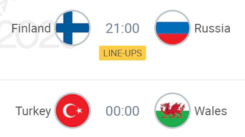 UEFA 2020 Tonight Finland VS Russia