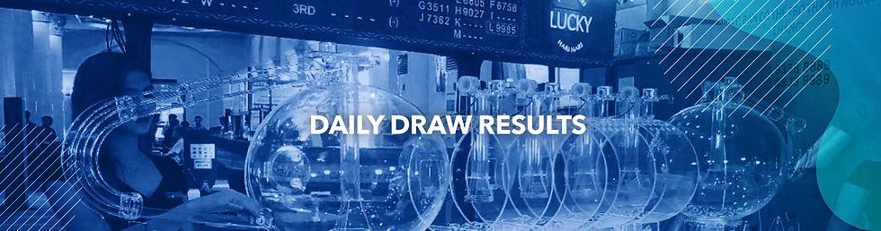 Lucky Hari Hari Daily Draw Results 4D Online Betting WINBOX