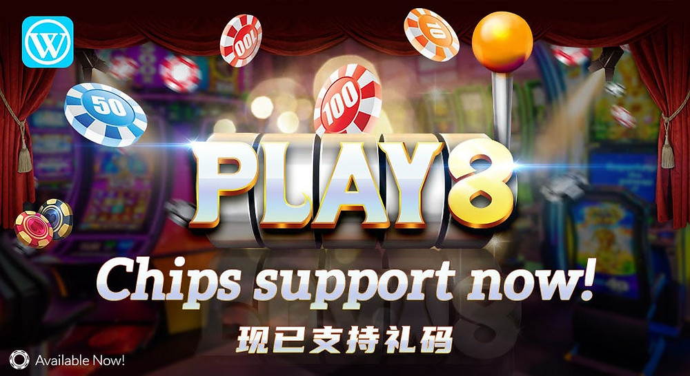 PLAY8 Slots Game WINBOX Support Chips Betting