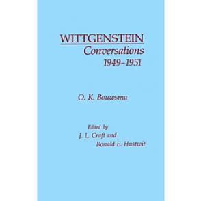 WITTGENSTEIN CONVERSATIONS, 1949-1951