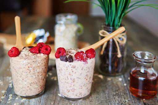 Chocolate Rasberry Overnight Oats