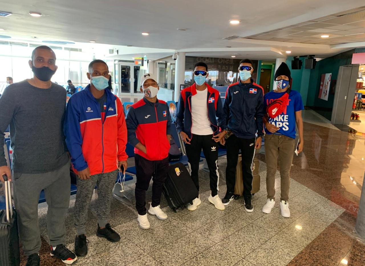 Atletas Dominicano Rumbo a colombia