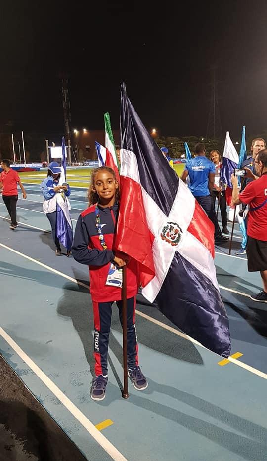 Micaela Marcelloni Arias de patinaje, la medallista más joven de estos juegos centroamericanos y del caribe 2018 PATINAJE ARTISTICO DOMINICANO.