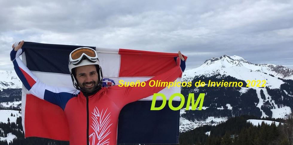 El Atleta Dominicano Jose Guillermo Puello de Ski Alpino Olímpico en Mont Blanc (Montana más alta de europa). Su sueño es de llegar a los Juegos Olímpicos de Invierno 2022 y representar a la República Dominicana.