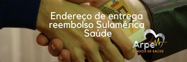 endereço-entrega-reembolso-Sulamérica-Saúde-zona-norte-são-paulo