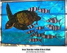 sea turtle and pilot fish.JPG