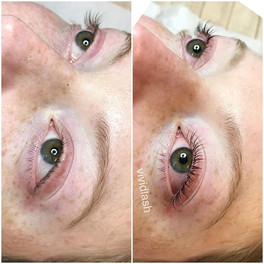 Lash lift beautifully done with natural
