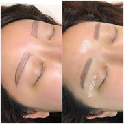 Brows went from sparse to full! Make an