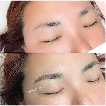 Brows transformed beautifully!_—_▪️Semi-