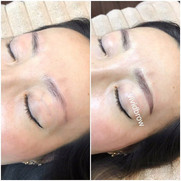 Gorgeous brows by one of our skilled tec