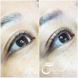 Lash lifts make can make quite a differe
