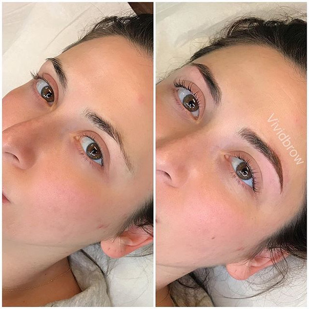 Beautiful new brows and lash lift! How n