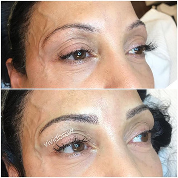 We absolutely love transforming brows fo