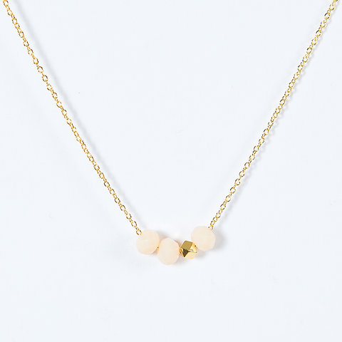 collier pepite d'or homme