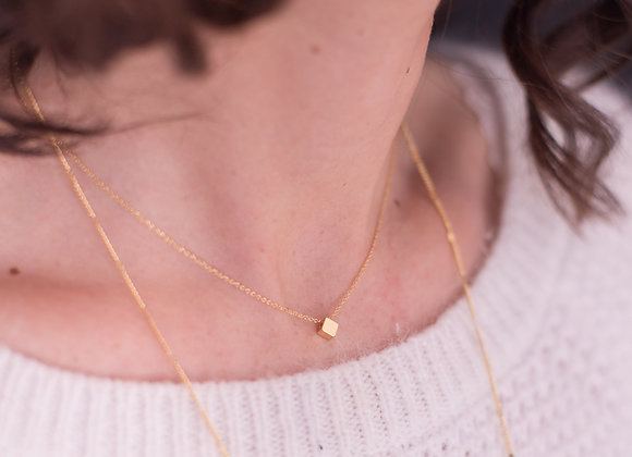 Collier Cube d'Or