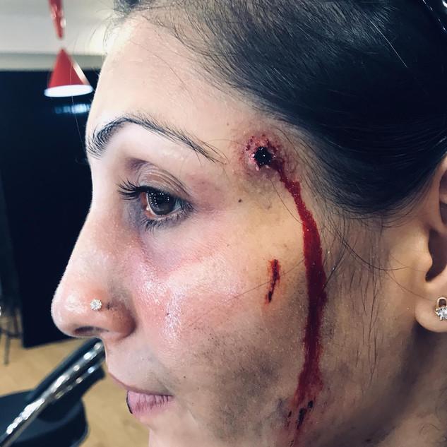 SFX Bullet wound