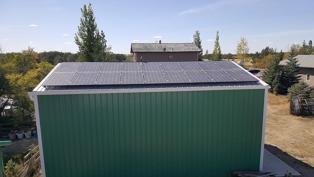 solar panels in rural regina saskatchewan