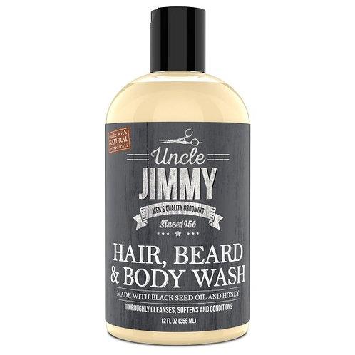 Uncle Jimmy Hair, Beard, & Body Wash