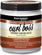 Aunt Jackie's Curl Boss – Coconut Curling Gelee