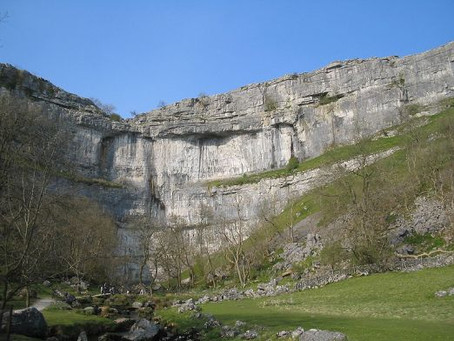 Malham Cove: The Storm that re-created Britain's highest waterfall.