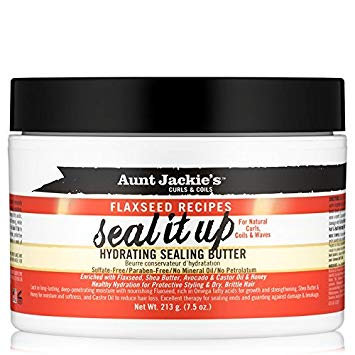 Aunt Jackie's Seal It Up – Hydrating Sealing Butter