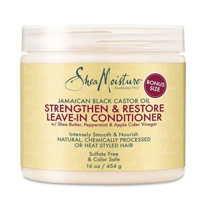 Shea Moisture Jamaican Black Castor Oil Strengthen & Restore Leave-In Conditione