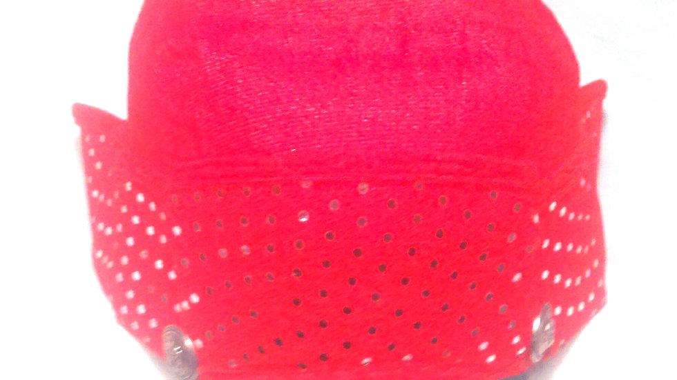 LGN RED WITH VISOR IN HEADREST