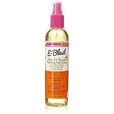 Aunt Jackie's E-Blast – Vitamin E & Flaxseed Spray Oil Nourishing Scalp Remedy