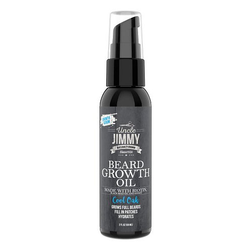 Uncle Jimmy Beard Growth Oil – Cool Oak