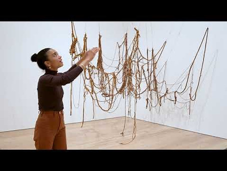 Eva Hesse – This simplicity and complexity has evoked controversy among art historians.