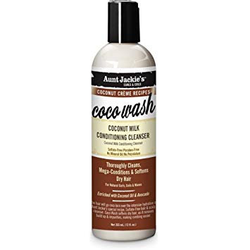 Aunt Jackie's Coco Wash – Coconut Milk Conditioning Cleanser