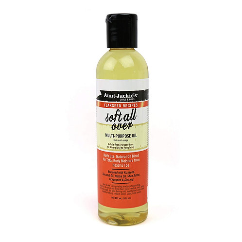 Aunt Jackie's Soft All Over Multi-purpose Oil