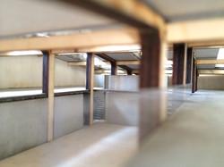 Вид с балкона: модель
