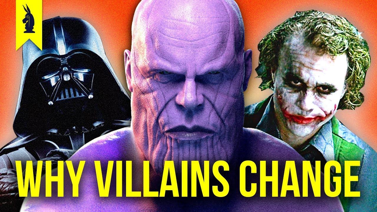 WISECRACK - Why Villains Change