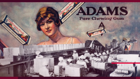 THE HISTORY OF CHEWING GUM