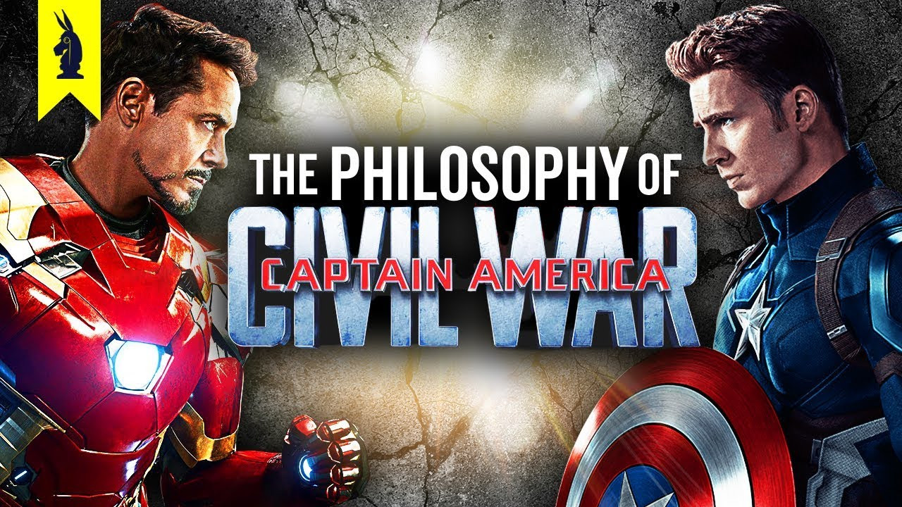 WISECRACK - The Philosophy of Captain America Civil War