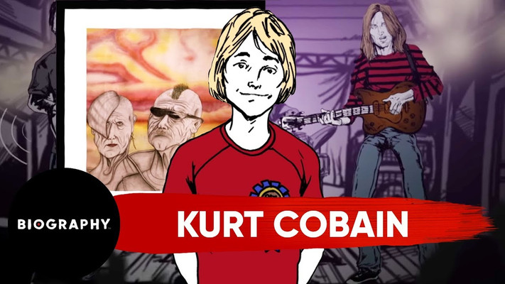 Biography - Kurt Cobain's Art