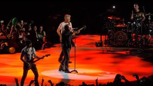 U2 dal vivo infiammano Roma