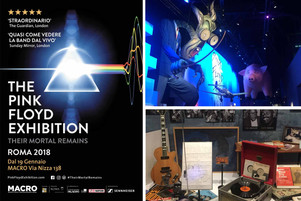 The Pink Floyd Exhibition, Their Mortal Remains. Un'immersione totale nella storia del rock.