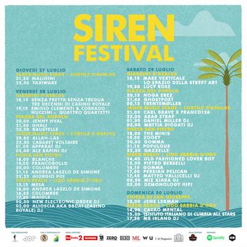 Baustelle, Ghostpoet, Trentemoller e Jenny Hval nella lineup del Siren Festival 2017 di Vasto pronto