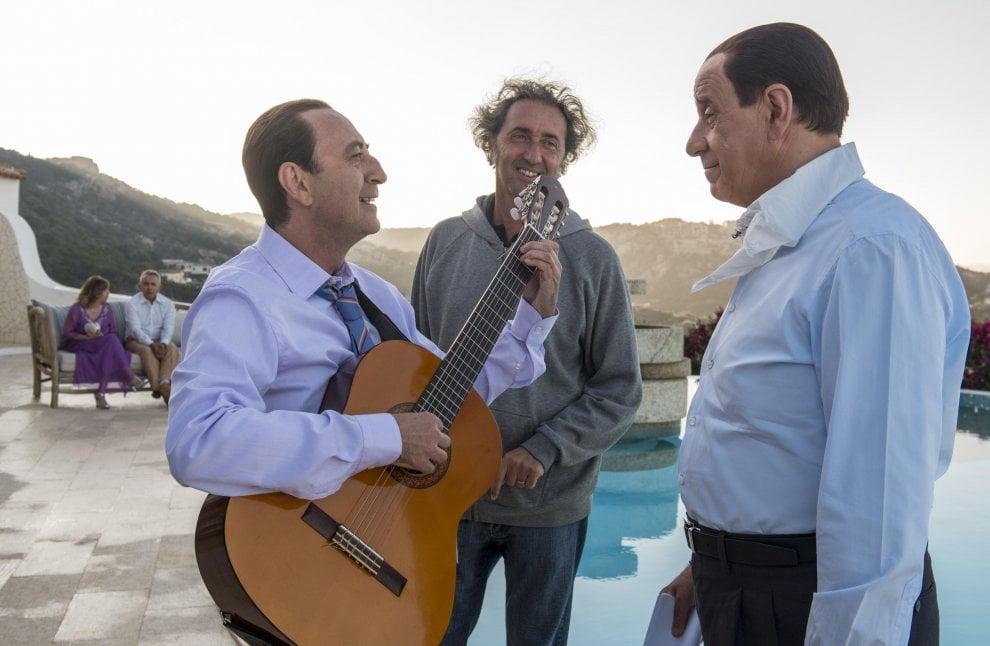 Berlusconi e Apicella nel film