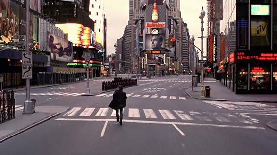 "Time Square dal Film ""Vanilla Sky"""