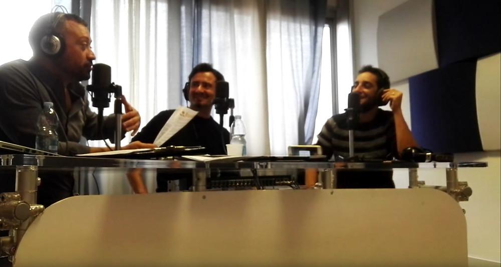 In onda negli studi di Radio Città Futura