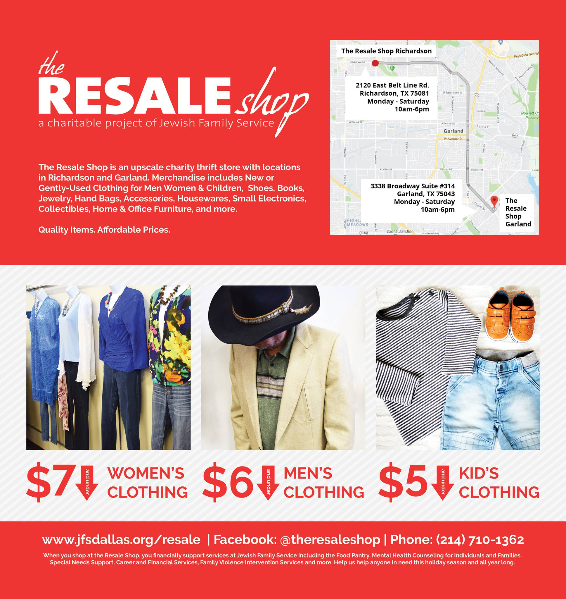 Resale Shop Dallas Morning News Ad
