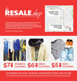 Resale Shop Dallas Morning News Ad