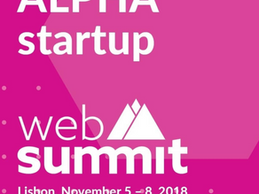 MY DATA manager selected to participate in the 2018 Web Summit ALPHA program.