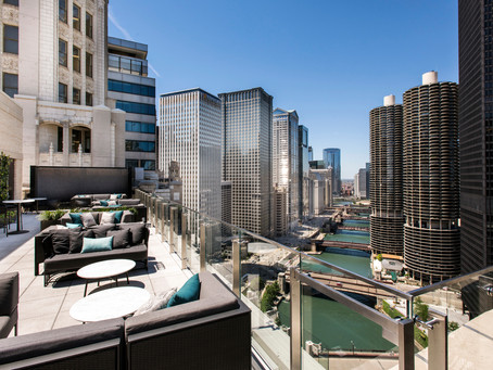 Summer Rooftops in Chicago